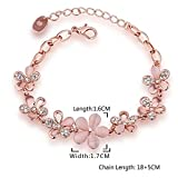 YouBella Gold Plated Charm Bracelet for Women (Golden)(YBBN_91340A)