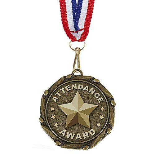 mbo Teilnahme Award Medaillen mit Rot, Weiß & Blau Bänder 45mm (13/4?) ()
