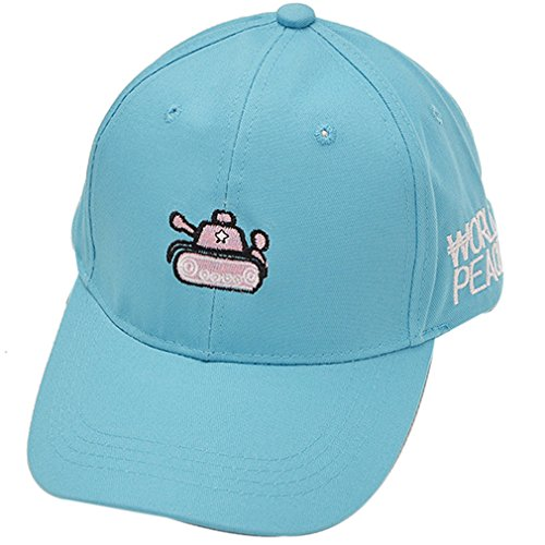 Belsen Cappello Unisex Adulto militare Baseball Trucker Cap (serbatoio blu)