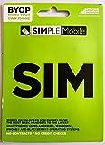 Simple Mobile PREPAID USA SIM KARTE (im T-Mobile USA NETZ) Normal Format