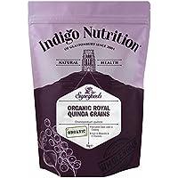 Indigo Herbs Quinoa Real en Grano Orgánica 1kg