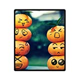 Best JJ Cole Picnic Blankets - DOUBEE Custom Soft Warm Cute Orange Fruit Cartoon Review