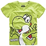Super Mario Yoshi T-Shirt grün 146/152