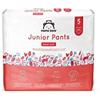 Amazon Brand - Mama Bear Junior Pants - Size 5 (13-20kg), 2 Packs of 40