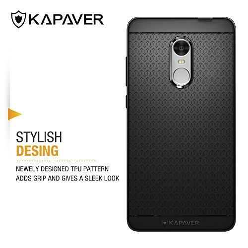 san francisco 5ec66 24e0a Kapaver Back Cover Case for Xiaomi Redmi Note 4