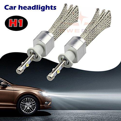 Preisvergleich Produktbild sweon H1Xenon Weiß 6000K LED Auto-Scheinwerfer Conversion Kit High/Low Beam Lampe CREE xhp-504800lm H3H4H7H11H1390039004900590069012