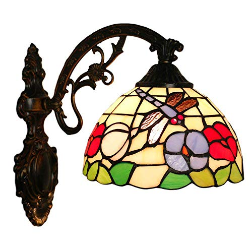 CHEYAL Traditionelle Antike Messing Tiffany Stil Schmuck Design Single Wall Light-1 Light