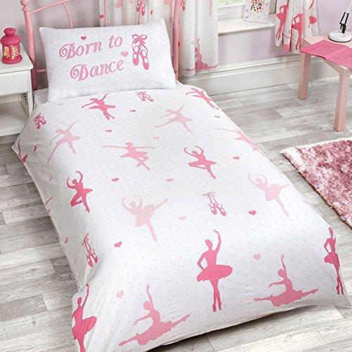 Born To Dance diseño de bailarina Junior funda nórdica y funda de almohada Set por PriceRightHome