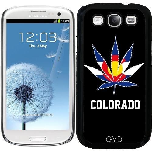 Hülle für Samsung Galaxy S3 (GT-I9300) - Colorado Cannabis Marihuana by Carsten Reisinger (Fall Samsung S3 Galaxy Unkraut)