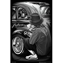(24x36) David Gonzales Art - Reflections Poster by Poster Revolution
