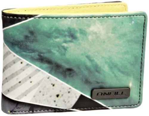 O \'Neill Hombre Cargador Cartera billeteras y Carteras Verde Verde Talla:Talla única