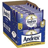 Andrex Washlets Flushable papel higiénico toallitas, supremo húmedo, pack ...