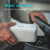 DOSS SoundBox- Touch Kabellose Portabler Bluetooth Lautsprecher mit unglaublicher 12-Stunden Spielzeit & Sensitive-Touch Wireless 12W Speakers mit TF Karte Funktion und Reinem Bass - 4