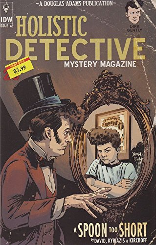 Dirk Gently's Holistic Detective Agency: A Spoon Too Short #5 (of 5) ((Subscription Cover)) - IDW - 2016 - 1st Printing