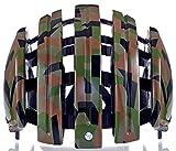 Bicicleta Plegable GTE Unisex Negro Brillante Camo, Todo el año, Hombre, Color Verde - Military Shiny Camo, tamaño 58-61