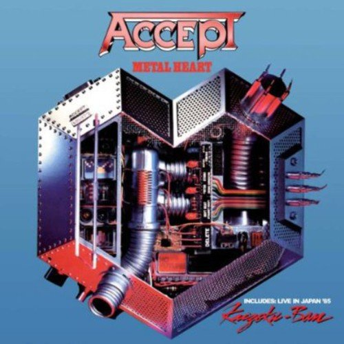 Accept: Metal Heart/Kaizoku-Ban (Live in Japan) (Audio CD)