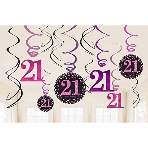 schlangen-Dekoration zum 21. Geburtstag ()