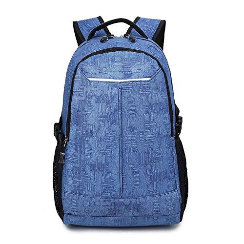 Minetom Unisex Käfer Form Schulrucksack Schulranzen Schultasche Daypacks Backpack Rucksack Freizeitrucksack Azurblau One Size