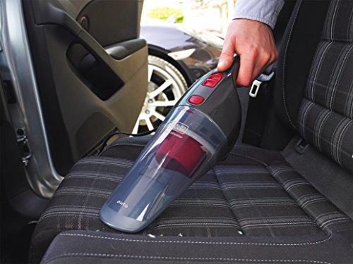 Black & Decker NV1210AV Auto-Handstaubsauger mit 12V Anschluss und Zubehör, Zwei-Stufen-Filtrationssystem