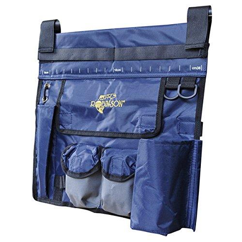 ROBINSON Reling-Tasche, ideal zum Bootsangeln, zur Aufnahme von sämtlichen Utensilien wie Pilker, Beifänger, Fischtöter, Zange etc