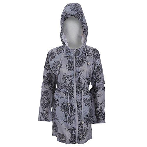 Manteau de pluie repliable - Femme Gris
