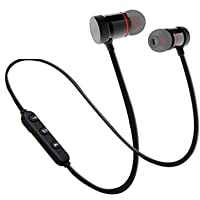 Onumtz BM-105 Light Weight Magnetic Bluetooth Headset Earphone & Calling Function Support for All Smartphone (Assorted…