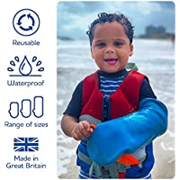 Bloccs Protector de escayola impermeable medio brazo para niño
