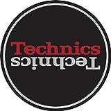 Technics 60657 Duplex 2 - Rutschmatte, Durchmesser ca. 29 cm, schwarz