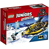 DC Comics LEGO 10737 Juniors Batman Vs. Mr. Freeze Superhero Toy