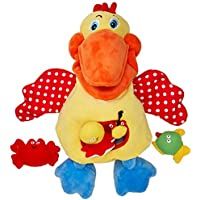 Melissa & Doug 19154 K's Kids Hungry Pelican Soft Baby Educational Toy, Multi-Colour preiswert