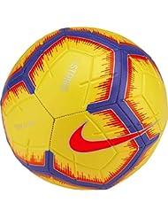 Nike SA NK STRK-FA18, Pallone Uomo, Yellow/Purple/Flash Crimson, 5