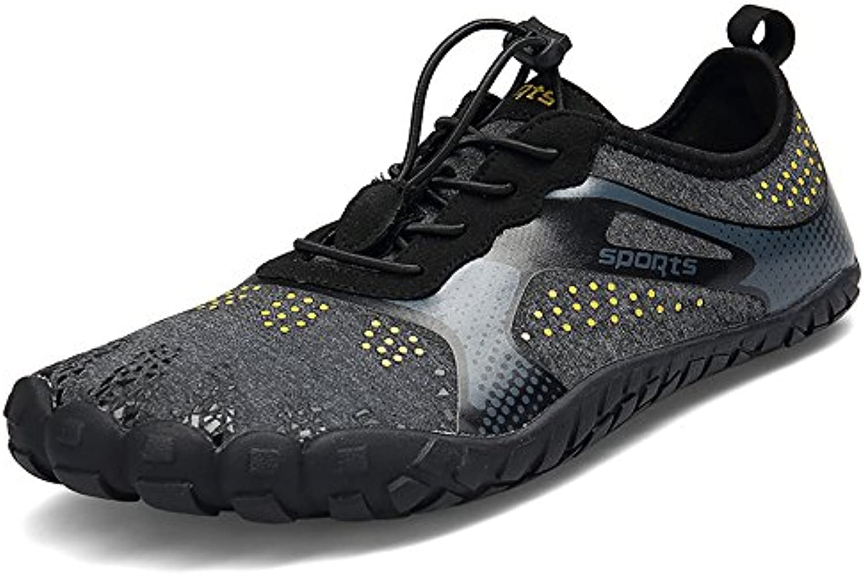 ZOEASHLEY Barfußschuhe Herren Damen Outdoor Fitnessschuhe Sommer Trekking Schuhe 36 46