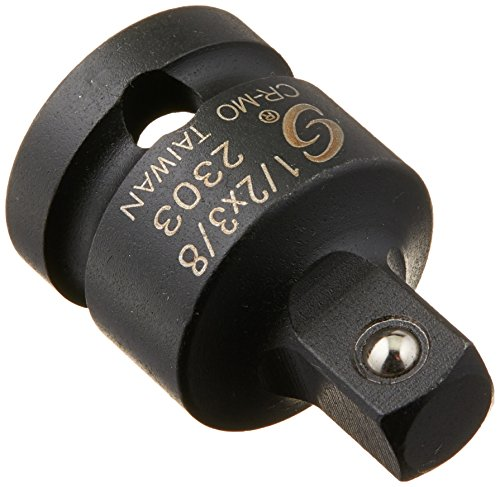 Sunex 23031/2Antrieb 1/2Weiblich 3/8Zoll männlichen Super Adapter