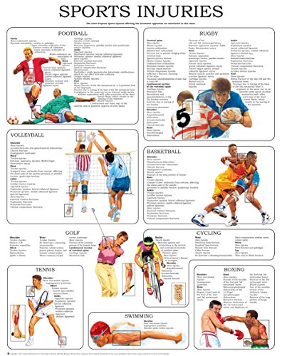 Sport injuries I - Quick Reference Chart: Full illustrated (English Edition) (Sport Full Foot)