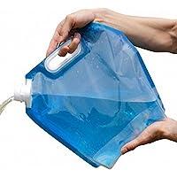 Hilai Zusammenklappbar Trinkwasser Container Storage Bag Pouch für Camping Wandern Picknick BBQ preisvergleich bei billige-tabletten.eu