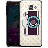 Samsung Galaxy A3 (2016) Housse Étui Protection Coque Caméra Symbole Lentille