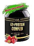 PEAK HBN-LII Complex HBN Strawberry-Yoghurt 750g | hochwertiges Ei-Albumin | optimiert mit Milchprotein und Vitaminen | Geringer Insulinindex | BCAA | EAA | L-Glutamin| Glutenfrei | Aspartamfrei | hoher Proteinanteil von bis zu 80% | Proteinshake für Bodybuilding, Kraftsport und Fitness | Eiweißpulver