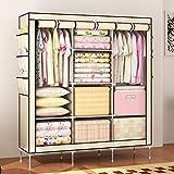 Lagute LC300 Fabric Cloth Closet Organizer Stoffschrank Kleiderschrank Faltschrank mit