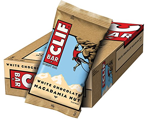 Clif Bar Energieriegel White Chocolate Macadamia, 1er Pack (1 x 816 g)
