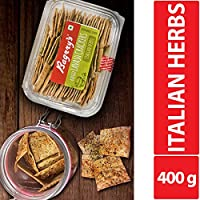 Baked Lavash Crackers Italian Herbs 200g (Pack of 2)