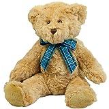 Mumbles Bracken Plush Teddy Bear / Childrens Soft Toy (L) (Brown (Light))