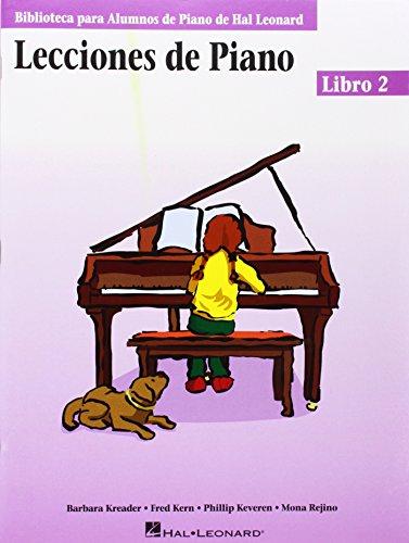 Lecciones de Piano, Libro 2 (Biblioteca Para Alumnos de Piano de Hal Leonard)