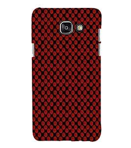 EPICCASE reddish flower Mobile Back Case Cover For Samsung Galaxy A5 (Designer Case)