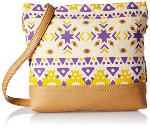 Kanvas Katha Women's Sling Bag (Multi color) (KKSAMZAUG005)