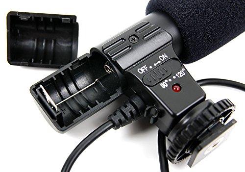 duragadget microfono  DURAGADGET Microfono Stereo per Fotocamere Canon EOS 6D, Canon EOS ...