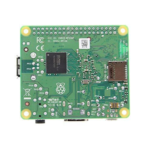 Himbeer-Pi & Ora Raspberry Pi 3 Modell A + Mainboard + (Plus) 3A Mit 2,4 G & 5 G WiFi 4,2 Bluetooth Quad-Core 1,4 GHz Broadcom-Prozessor -