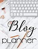 Blog Planner: Blog Monthly Planner for Bloggers and Content Writers