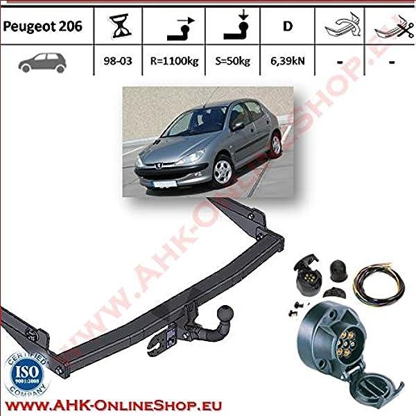 10//00- Faisceau Universel 7 Broches RDSOH Auto-Hak Attelage Peugeot 206 CC