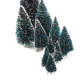 knuellermarkt24.de Weihnachtsbäume 10er Set versch. Größen, Tannenbaum Tannenbäumchen, Weihnachtsbäumchen, Tischdeko