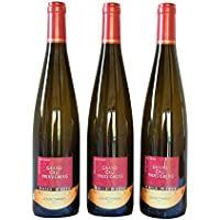 Vin d'Alsace AOC Bio Gewurztraminer Grand Cru Pfersigberg 2014 - 75 cl - Domaine O. Weber - Lot de 3 bouteilles